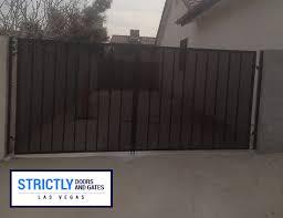 Las Vegas Rv Gates Double Side Yard Gates Company Strictly Doors And Gates