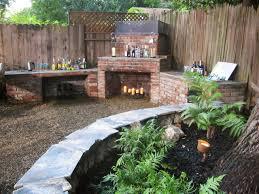 homemade furniture patio fireplace fire