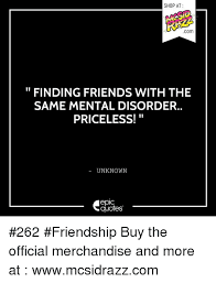 shop at com finding friends the samental disorder