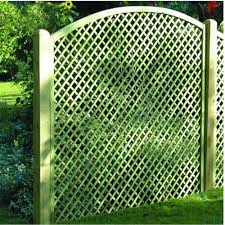 Convex Fence Panel Lattice Trellis Panel Wooden Supplies Wooden Supplies