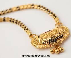 gold mangalsutra design south india