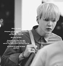 bts kpop quotes suga text image by rayman on com