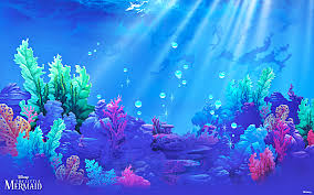 best 53 the little mermaid background