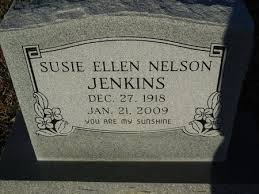 NELSON JENKINS, SUSIE ELLEN - Ashley County, Arkansas | SUSIE ELLEN NELSON  JENKINS - Arkansas Gravestone Photos