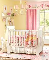 baby girl nursery room