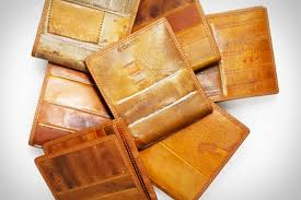 coach baseball glove wallets uncrate