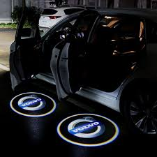 Car Fitg Wireless Led Car Door Projector Puddle Logo Light Car Glowing Lighting Logo Modified Cars Truck Rims And Tires
