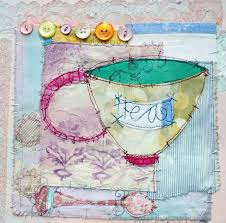 TIme For Tea | Fabulous Collage from British Mixed Media Artist ...
