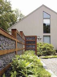 Privacy Fence Ideas Huge Rounded Lattice Panels Enclosed In Block Columns With A Timber Beam Of Light Arbo Fence Design Backyard Fences Privacy Fence Designs