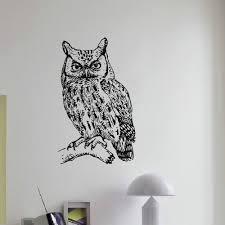 Shop Owl Wall Art Decal Sticker Overstock 10597408