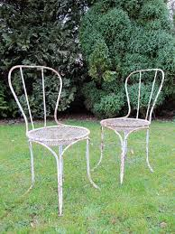 late 19th cent french garden chairs