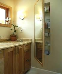 in wall bathroom mirror cabinets