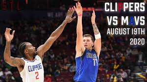 Mavericks vs Clippers HIGHLIGHTS FULLGAME | NBA August 19 Playoff Game 2 -  YouTube