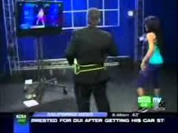 KCRA 3 News in Sacramento - Adriana Carr shows off Zumba Wii - YouTube