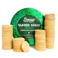 clic sugar moravian cookie round