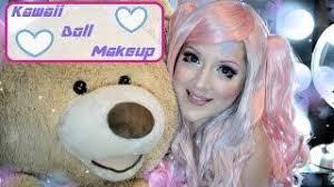 kawaii doll cosplay makeup tutorial
