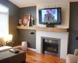 fireplace mantel colors wood beam