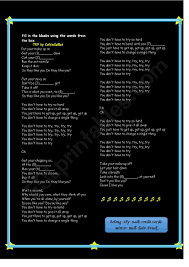 song try by colbie caillat esl