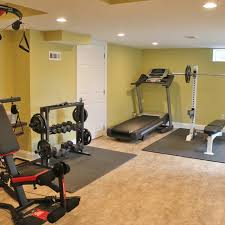 building a home gym equipment and