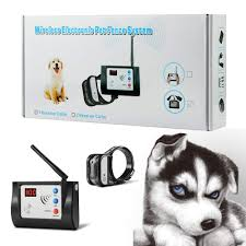 Blingbling Petsfun Electric Wireless Dog Fence System For Dogs Electronic Pet Containment System Fo Wireless Dog Fence Pet Containment Systems Training Collar