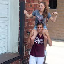 Happy BearWear Friday! Abby Biswell and... - Missouri State University |  Facebook