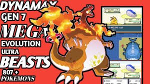 NEW POKEMON Fire Red DYNAMAX GBA ROM HACK WITH ,MEGA EVOLUTION ...