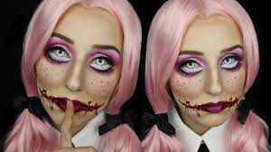 creepy doll sched mouth