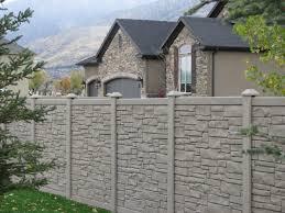 Faux Stone Fence Okc