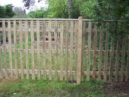 Palisade Or Picket Fencing Available From Crestala Fencing Centre