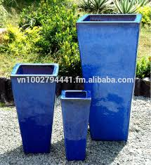 whole tall tapered square planters