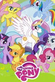 unicorn and the pony wallpaper