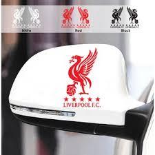 2pcs Set Fun Sticker Liverpool F C Car Mirrors Styling Personality Shopee Malaysia
