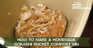 homemade bokashi bucket poster