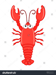 Cute Funny Cartoon Lobster Vector ...