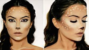 do easy deer makeup for an quick free