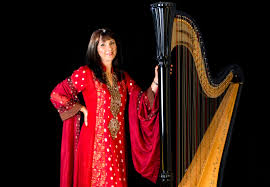 bollywood harpist oceana for hire in uk