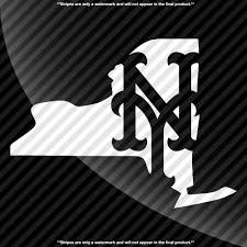 New York Mets Logo State Pride Decal Decals By Delano