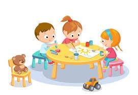 Znalezione obrazy dla zapytania: dzieci w domu rysunek