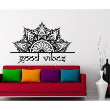 Shop Half Mandala Headboard Wall Decal Overstock 31960397
