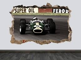 F1 Vintage Print F1 Wall Decal Retro F1 Wall Arts F1 Racing Etsy In 2020 Vintage Prints Wall Decals Wall Prints