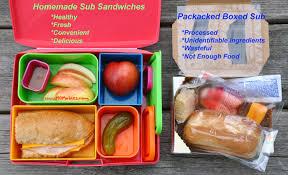 homemade sub sandwich lunchable mrs
