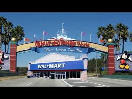 closest wal mart to disney world on 535