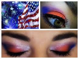 4th of july makeup tutorial face