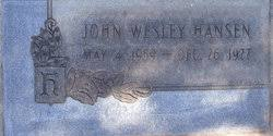 John Wesley Hansen (1959-1977) - Find A Grave Memorial