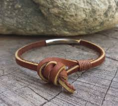 mens bracelet mens leather bracelet