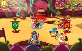 In-Game Image of the Arena in Angry Birds Epic by ...