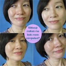 do makeup make us look more petent