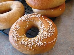 homemade whole wheat and white bagel recipe