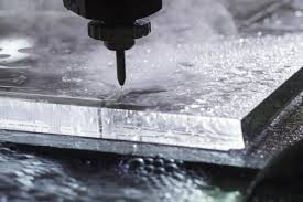 glass cutting waterjet cutting