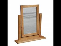obw chunky pine vanity mirror
